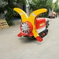 Self propelled crawler air blast power sprayer    3