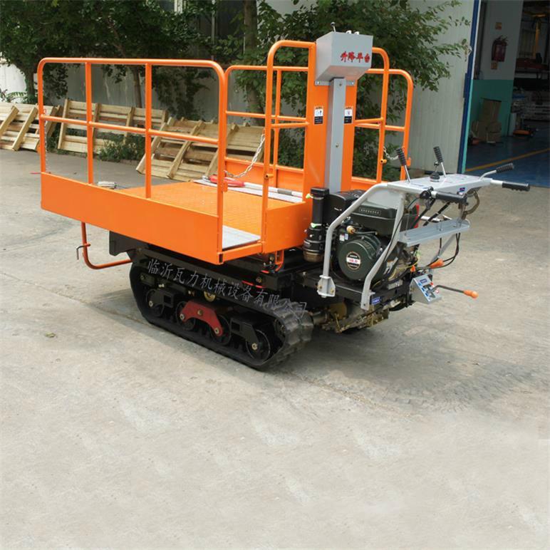 mini remote control crawler work platform  16