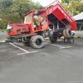 4WD Palm Garden wheel type transporter