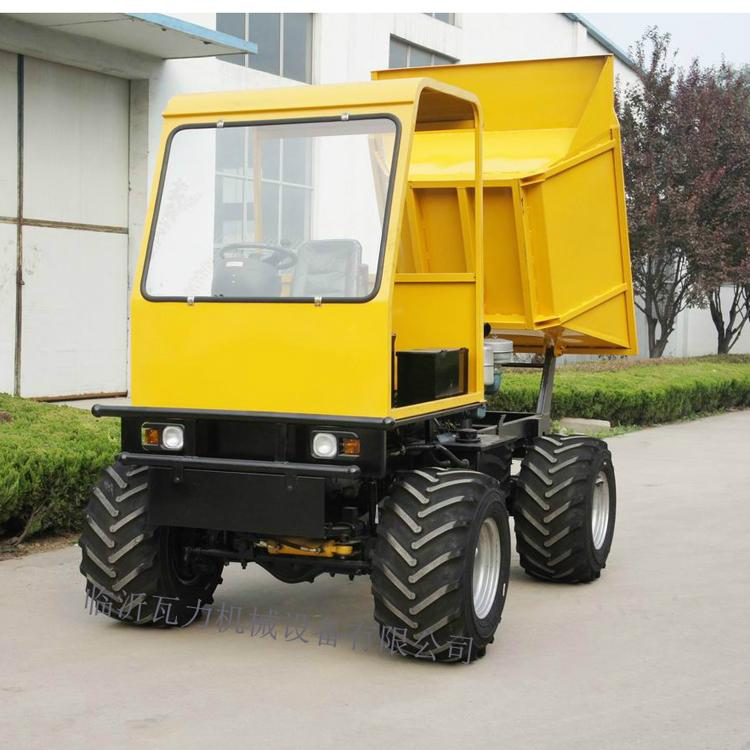 4WD wet land  wheel type dumper WL-2000W 1