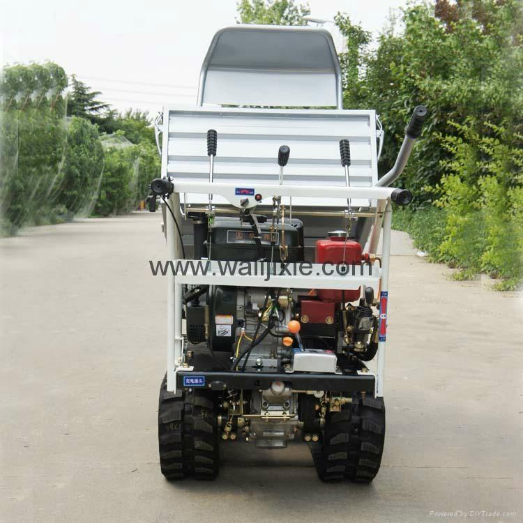 迷你履带遥控果园搬运车  WL-350 5