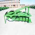 High efficiency paddy rice field tractor mounted ridger