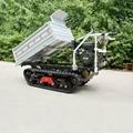 Mini crawler remote control truck dumper