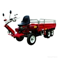 Garden diesel engine wheel transporter