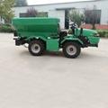 self propelled 4WD farm fertilizer spreader