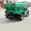 self propelled 4WD farm fertilizer spreader
