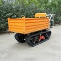 All Terrian Tracked Hydraulic garden Transporter