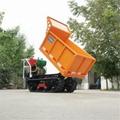 garden mini crawler truck dumper