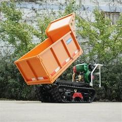 mini crawler tipper truck dumper