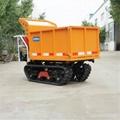hydraulic mini crawler truck dumper