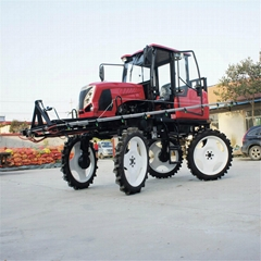 self propelled hydraulic powered agricultural boom sprayer