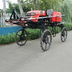 自走式柴油水旱兩用噴杆噴霧機