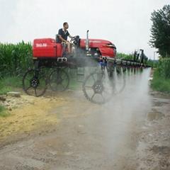 柴油水旱兩用噴杆噴霧機