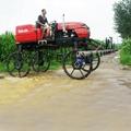self propelled type wheat boom sprayer