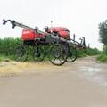 agricultural diesel engine power boom sprayer