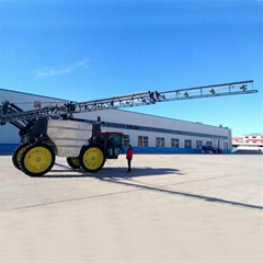 High clearance  farmland self propelled boom sprayer