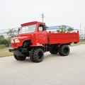 Agricultural tractor wood transport vehicle