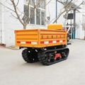 Multifunctional crawler tractor for