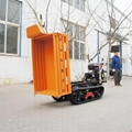 Multifunctional crawler tractor for  Forest Fire Fighting