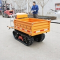 Forest Fire Fighting crawler truck dumper