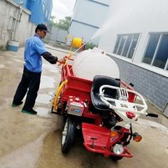 甘蔗棕櫚轉運車配置打藥機