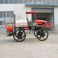 4WD farm tractor boom sprayer for paddy field