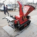 Mini Mobile Garden Wood Chipper with Pneumatic pruning