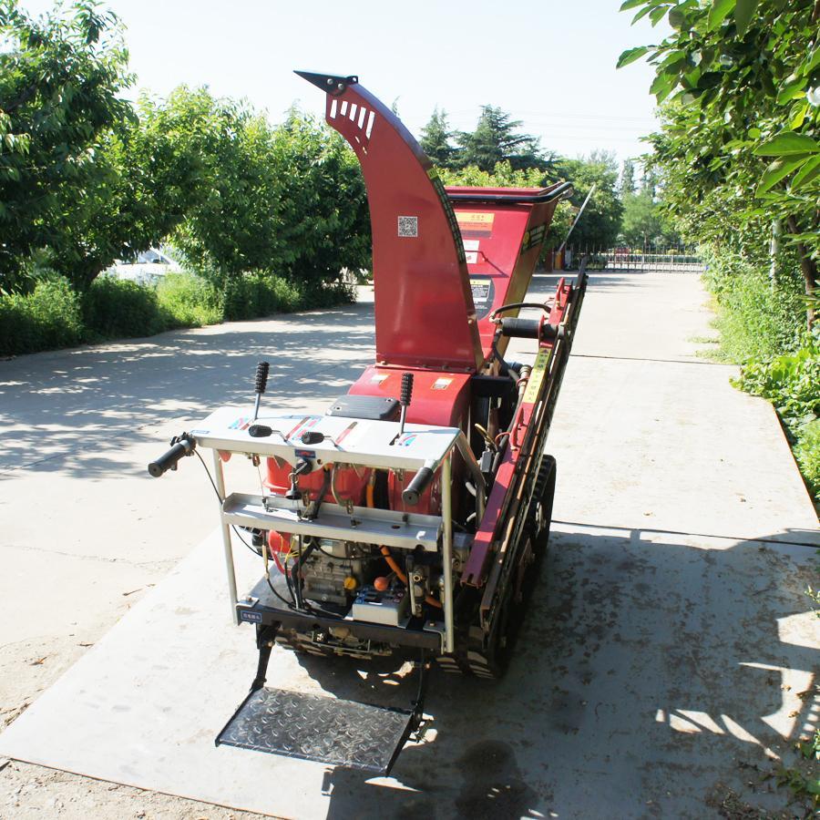 履帶自走式柴油果園修剪粉碎機 3