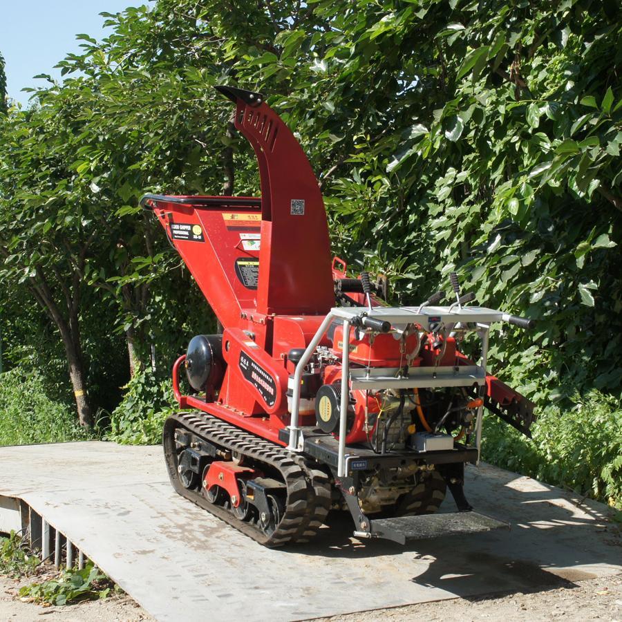 履带自走式柴油果园修剪粉碎机 4