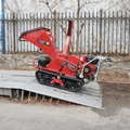 履带树枝树叶粉碎机劈木机 7