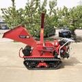 履帶樹枝樹葉粉碎機劈木機 9