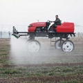 Self-propelled paddy field diesel engine power fog sprayer
