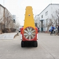 crawler type orchard  air blowers fans