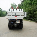 Self propelled crawler air blast power sprayer  3WF-350