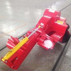 Ridging machine bund maker for rice paddy field
