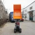 Mini Crawler type Pista Dumper with lift container