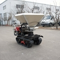 palm oil garden crawler fertilizer spreader