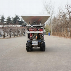 agricultural tractor fertilizer drop spreader