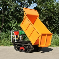 mini tracked power barrow for garden