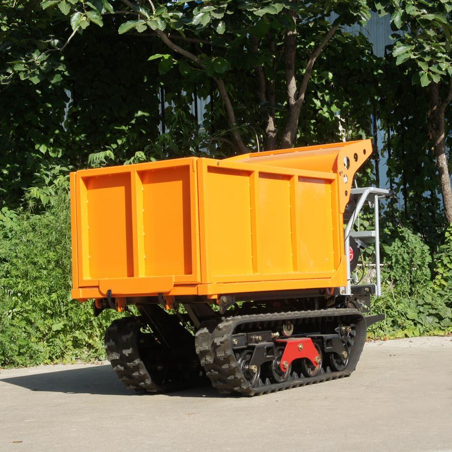 棕榈果园柴油履带柴油液压翻斗车 4