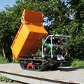 棕榈果园柴油履带柴油液压翻斗车 9