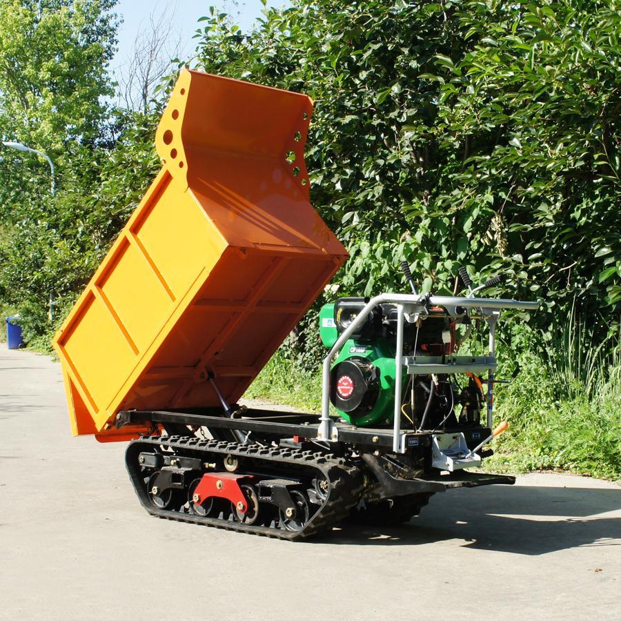 棕榈果园柴油履带柴油液压翻斗车 10