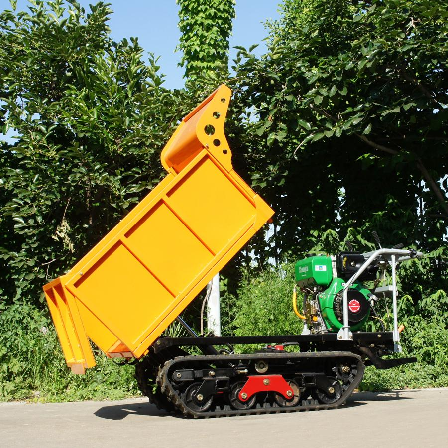 棕櫚果園柴油履帶柴油液壓翻斗車 3