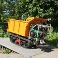 mini hydraulic crawler dumper with diesel engine