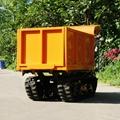棕櫚果園柴油履帶柴油液壓翻斗車 7