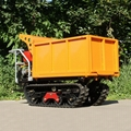 mini rubber tracks dumper