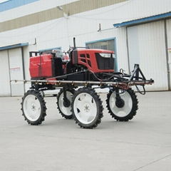 self-propelled agricultural pesticide boom sprayer