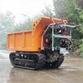 載重1000KG棕櫚園履帶柴油液壓翻斗車 11