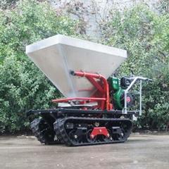 履帶柴油自走式顆粒撒肥機