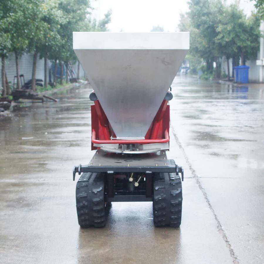 履带柴油自走式液压马达撒肥机 5